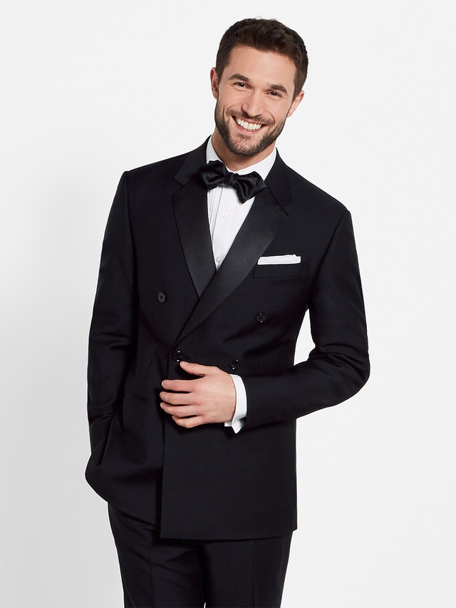 Premium suit tuxedo rentals delivered the black tux for The tuxedo house